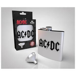 AC/DC Logo Hip Flask