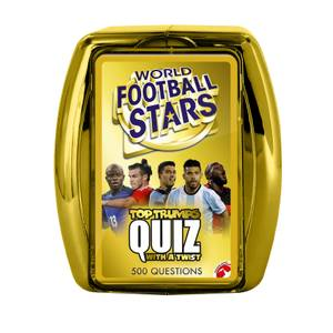 Top Trumps Quiz Game - World Football Stars Edition