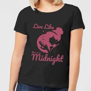 Disney Princess Midnight Frauen T-Shirt - Schwarz