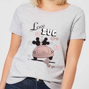 Disney Mickey Mouse Love Bug Frauen T-Shirt - Grau