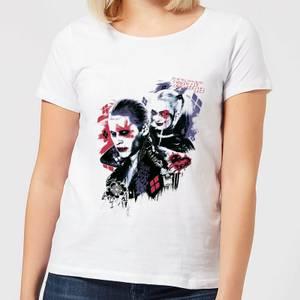 DC Comics Suicide Squad Harleys Puddin Women's T-Shirt - White