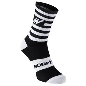 Series Stripe White Socks