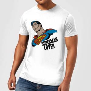 DC Comics Superman Lover T-Shirt - White