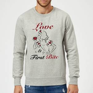 Sudadera Disney Blancanieves y los siete enanitos Love At First Bite - Hombre - Gris