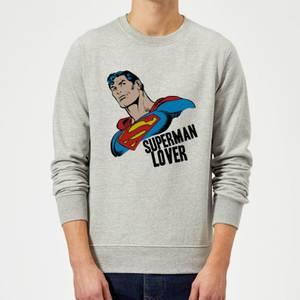 DC Originals Superman Lover Pullover - Grau