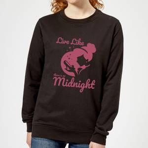 Disney Prinzessin Midnight Frauen Pullover - Schwarz