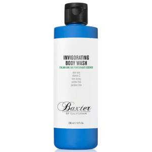 Gel douche revigorant Baxter of California 236 ml - Citron vert et Grenade