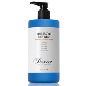 Gel douche revigorant Baxter of California 473 ml - Agrumes et Musc - Grand format