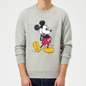 Felpa Disney Topolino Classic Kick - Grigio