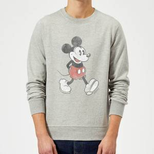 Disney Mickey Mouse Walking Pullover - Grau