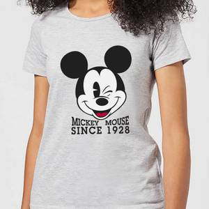 Disney Mickey Mouse Since 1928 Women's T-Shirt - Grey