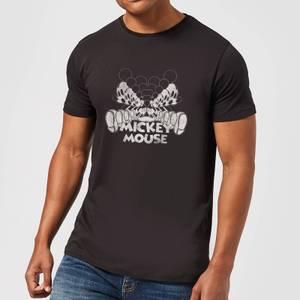 Disney Mickey Mouse MirroRot T-Shirt - Schwarz