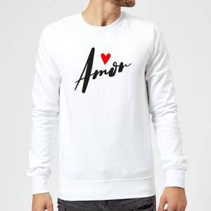 Amor Sweatshirt - White
