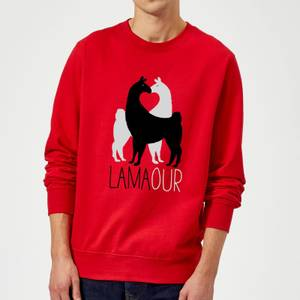 Lamaour Sweatshirt - Red
