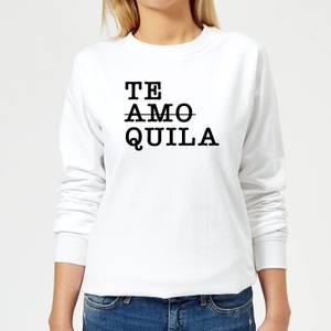 Te Amo/Quila Women's Sweatshirt - White