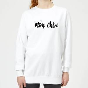Mon Chéri Women's Sweatshirt - White