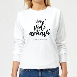 We Came. We Saw. We Loved. Women's Sweatshirt - White
