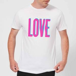 Love Glitch T-Shirt - White
