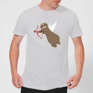 Sloth Cupid T-Shirt - Grey