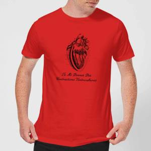 Premature Ventricular Contractions (FR) T-Shirt - Red
