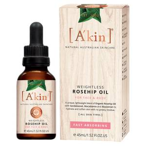 A'kin Weightless Rosehip Oil(아킨 웨이트리스 로즈힙 오일 45ml)