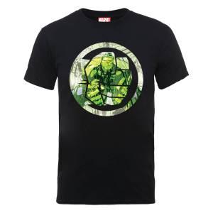 Marvel Avengers Assemble Hulk Montage T-shirt - Zwart