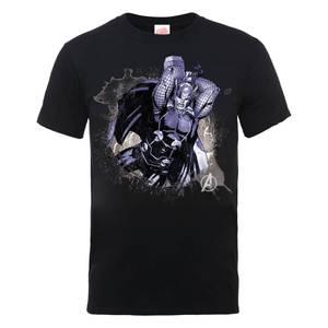 Marvel Avengers Assemble Thor Splash T-Shirt - Black