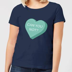 Can You Not Women's T-Shirt - Navy