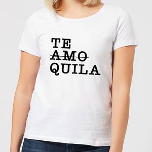 Te Amo/Quila Women's T-Shirt - White