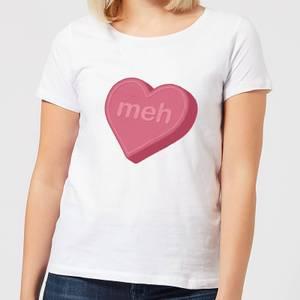 Meh Women's T-Shirt - White