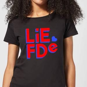 Liefde Block Women's T-Shirt - Black