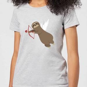 Sloth Cupid Women's T-Shirt - Grey