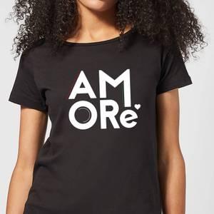 Amore Women's T-Shirt - Black