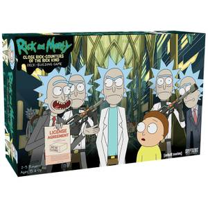 Jeu Close Rick Counters of the Rick Kind Deck Building: Rick and Morty
