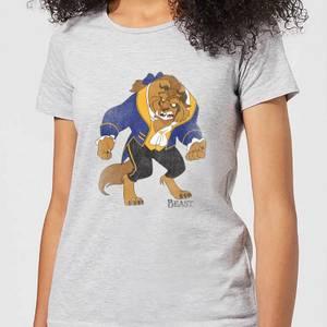 T-Shirt Femme Classique - La Belle et la Bête (Disney) - Gris