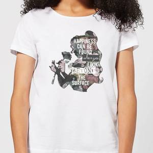 Camiseta Disney La Bella y la Bestia Happiness - Mujer - Blanco