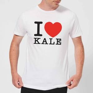 I Heart Kale T-Shirt - White