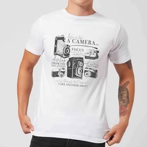 Life Is Like A Camera T-Shirt - White