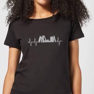 Heartbeat Books Women's T-Shirt - Black
