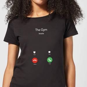Gym Calling Women's T-Shirt - Black