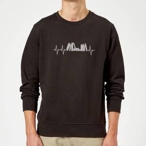 Heartbeat Books Sweatshirt - Black