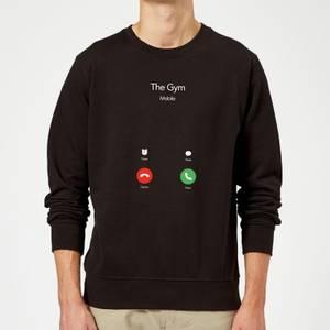 Gym Calling Sweatshirt - Black
