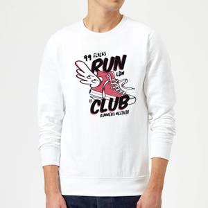 RUN CLUB 99 Sweatshirt - White