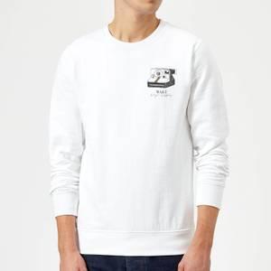 Make Magic Happen Sweatshirt - White