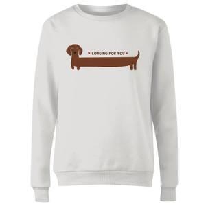 I Long For You Women's Sweatshirt - White