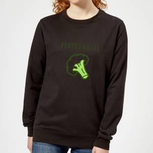 Broccoholic Women's Sweatshirt - Black