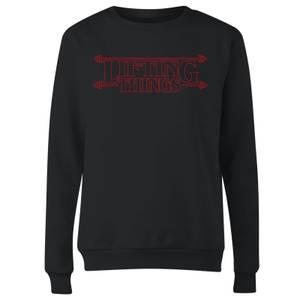 Lifting Things Women's Sweatshirt - Black