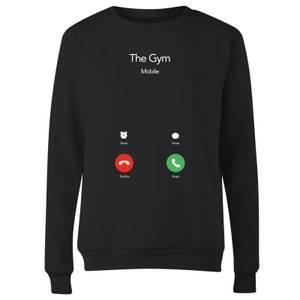 Gym Calling Women's Sweatshirt - Black