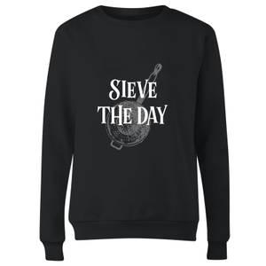 Sieve The Day Women's Sweatshirt - Black
