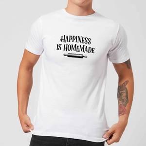 Happiness Is Homemade T-Shirt - White
